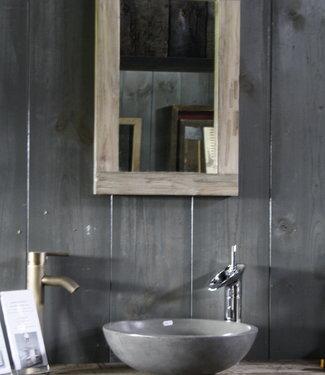 Rene Houtman Spiegel White Wash L60xB40xD3.5 cm