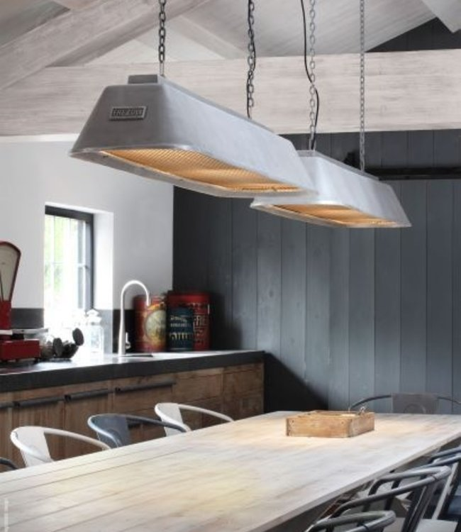 Frezoli Bizz Hanglamp Aluminium - L150 cm