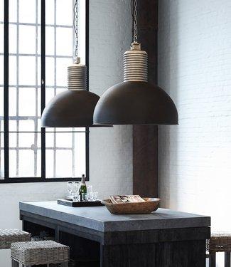 Frezoli Lozz XL Hanglamp - 78 cm - Grijs/zwart