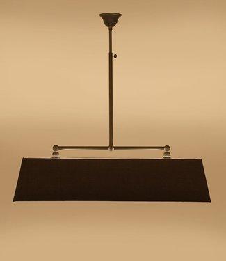 Frezoli Vechia 2 Mat Zwart - L62 cm