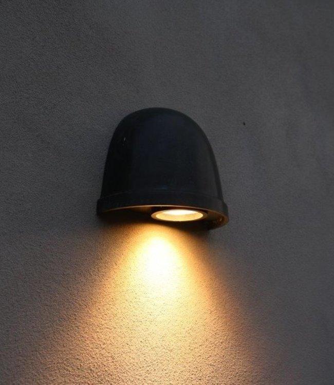 Frezoli Murlo Wandlamp - Zwart/Bruine Finish