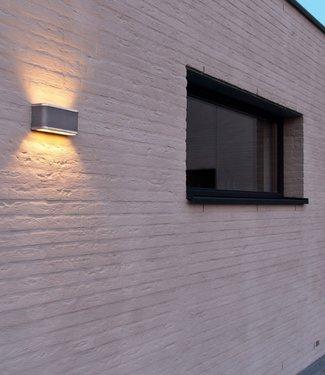 Frezoli Barr Large Wandlamp - Mat Zwart