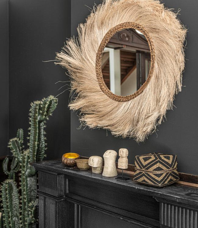 Bazar Bizar The Hathi Mirror - Naturel - 90 cm