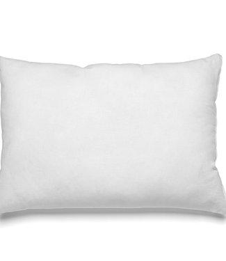 Bazar Bizar Witte Binnenkussen Rechthoekig - 30x50 cm