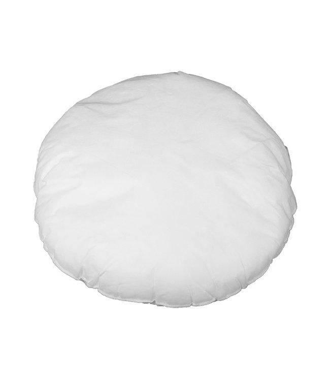 Bazar Bizar Witte Binnenkussen Rond - 40 cm