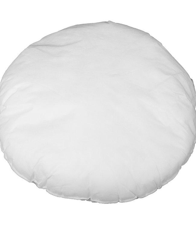 Bazar Bizar Witte Binnenkussen Rond - 60 cm