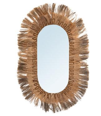 Bazar Bizar The Huge Oval Mirror - XL