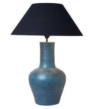 Frezoli Pizzoli Tafellamp - Oud Blauw - H55 cm