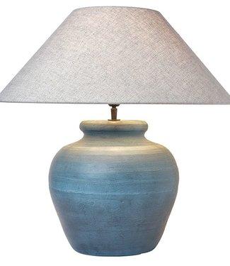 Fani Tafellamp - Oud Blauw - H35 cm