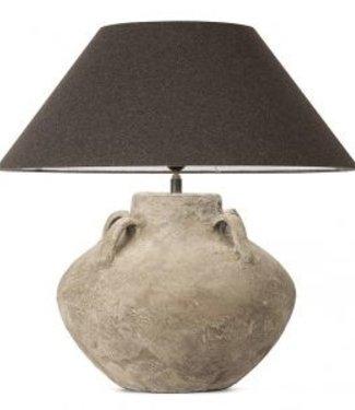 Frezoli Connato Tafellamp - Grijs - H45 cm