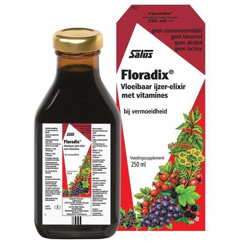 Salus Floradix ijzer elixer (250ml)