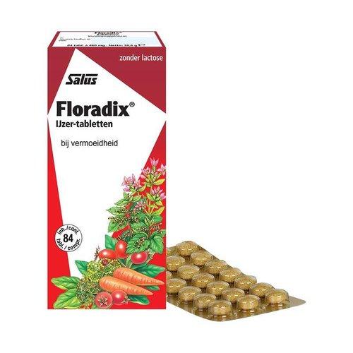 Salus Salus Floradix ijzer tabletten (84tb)
