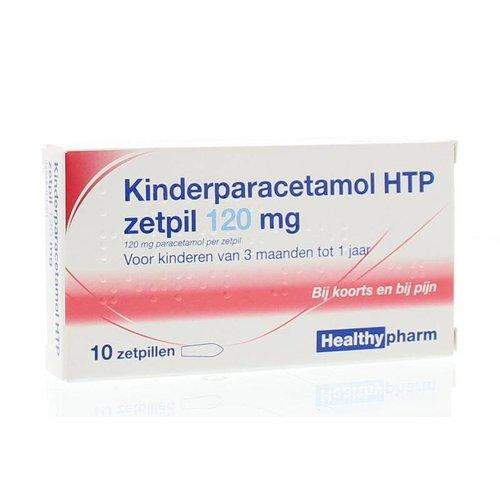 Healthypharm Healthypharm Paracetamol kind 120 mg (10zp)