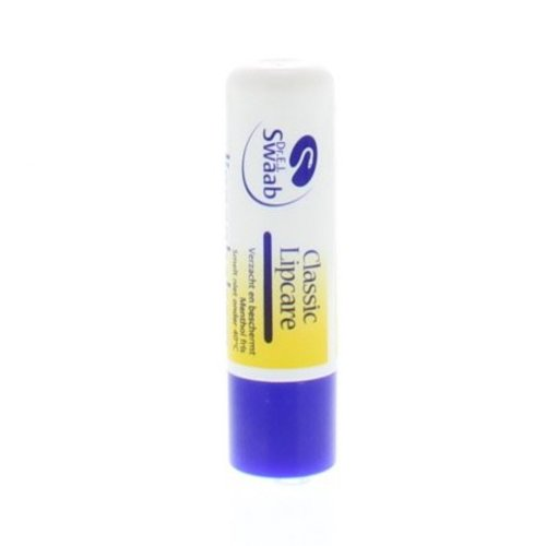 DR Swaab DR Swaab Lippenbalsem classic met UV filter (4.8g)