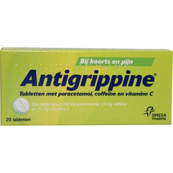 Paracetamol 250 mg + coffeine + vitamine C (20tb)