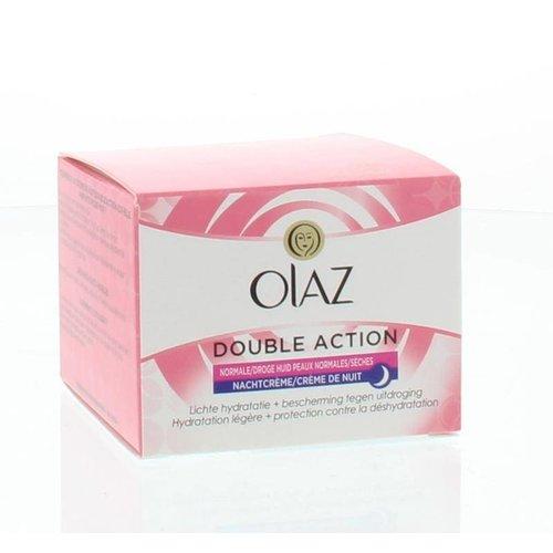 Olaz Olaz Essentials care double action nachtcreme (50ml)