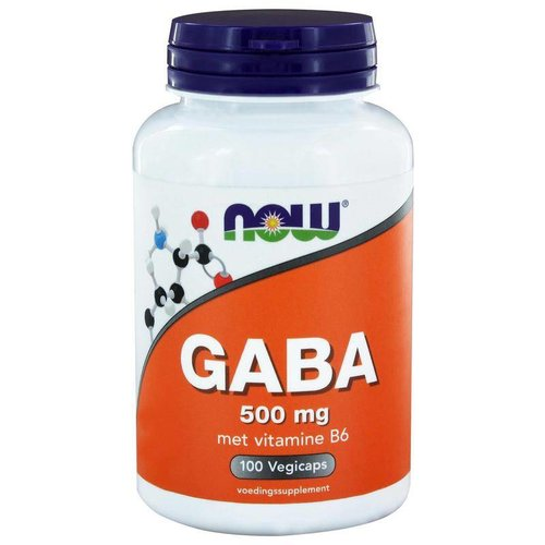 NOW NOW GABA 500 mg (100ca)