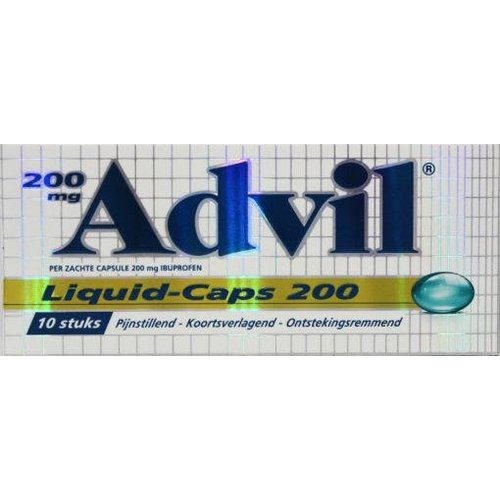 Advil Advil Advil liquid caps 200 (10ca)