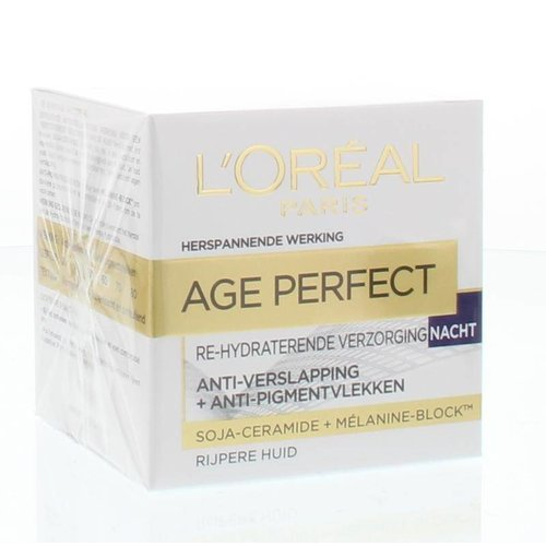 L'Oreal Loreal Age perfect nachtcreme (50ml)