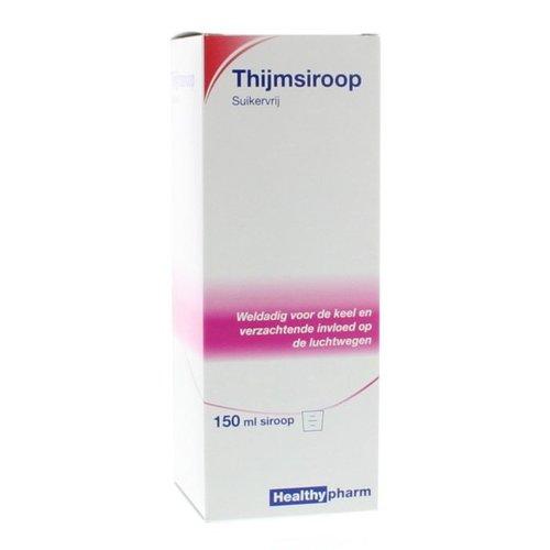 Healthypharm Healthypharm Thijmsiroop suikervrij (150ml)