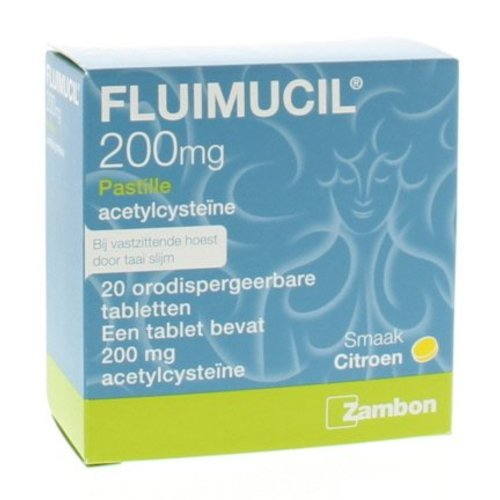 Fluimucil Fluimucil Fluimucil pastilles (20st)