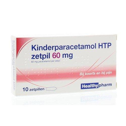 Healthypharm Healthypharm Paracetamol kind 60 mg (10zp)
