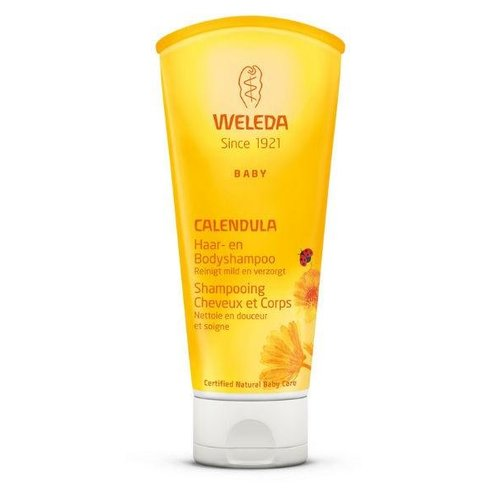Weleda Weleda Calendula baby haar en body shampoo (200ml)