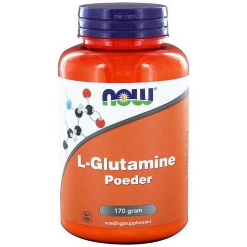 NOW NOW L-Glutamine poeder (170g)