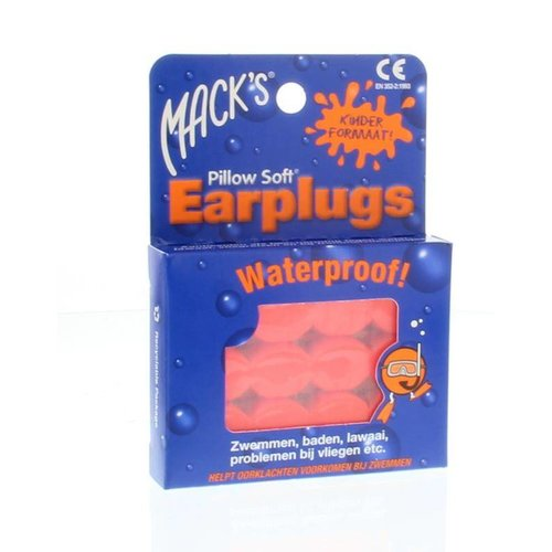 Macks Macks Earplugs kids (6paar)