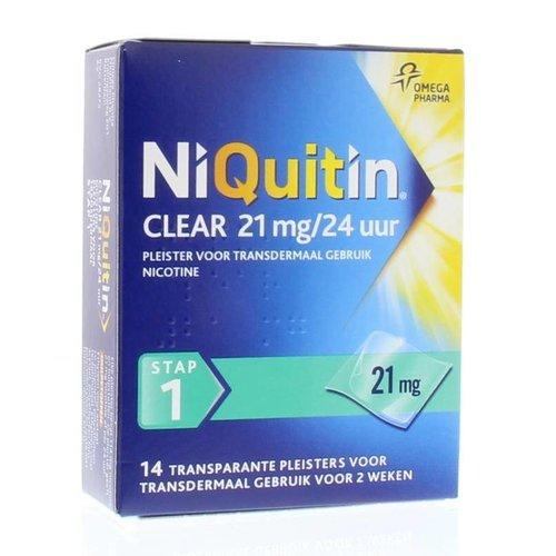 Niquitin Niquitin Stap 1 21 mg (14st)