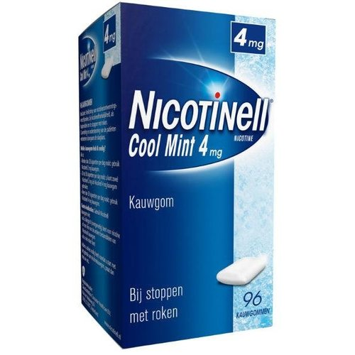 Nicotinell Nicotinell Kauwgom cool mint 4 mg (96st)