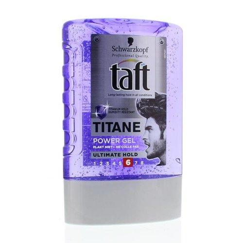 Taft Taft Titane power gel ultimate hold tottle (300ml)