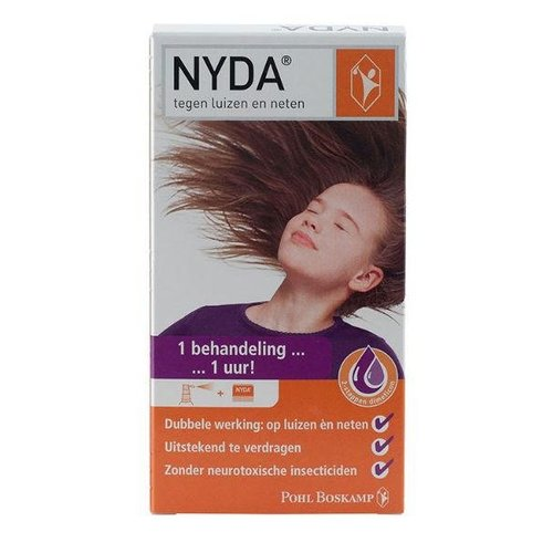 Nyda Nyda Luizen/neten/eitjes spray (50ml)