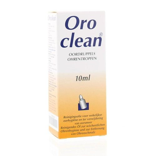 Pierre Fabre Pierre Fabre Oroclean oordruppels reinigings olie (10ml)
