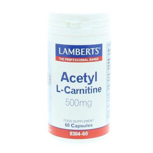 Lamberts Lamberts Acetyl l-carnitine (60ca)