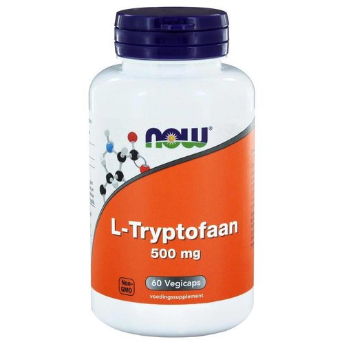 NOW NOW L-Tryptofaan 500 mg (60sft)