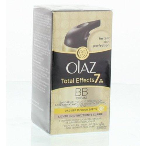 Olaz Olaz Total effects BB cream dagcreme lichte tint (50ml)
