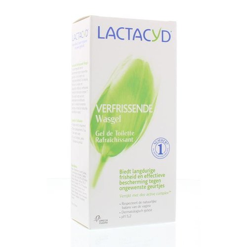 Lactacyd Lactacyd Wasemulsie verfrissend (200ml)