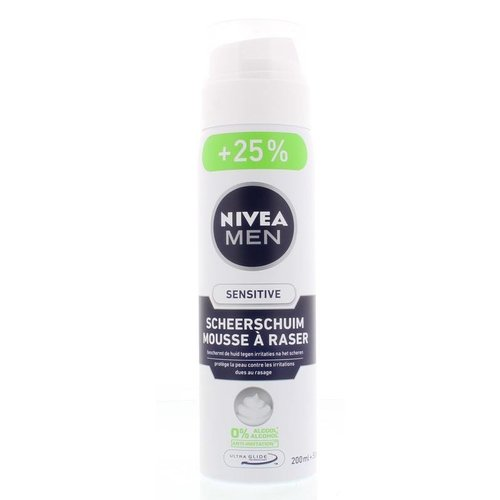 Nivea Nivea Men scheerschuim sensitive (250ml)