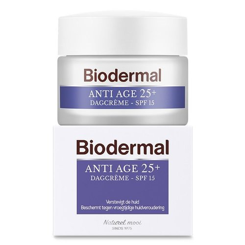 Biodermal Biodermal Dagcreme anti age 25+ (50ml)