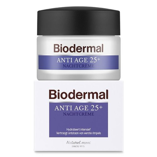 Biodermal Biodermal Nachtcreme anti age 25+ (50ml)