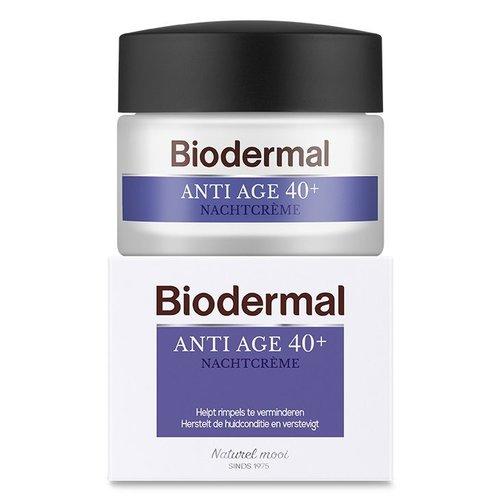 Biodermal Biodermal Nachtcreme anti age 40+ (50ml)