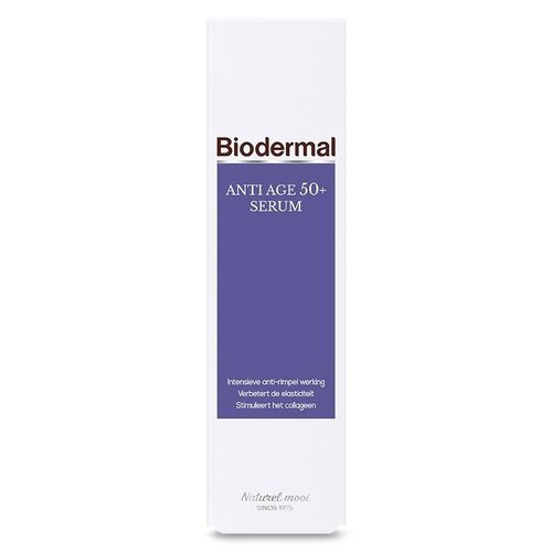 Biodermal Biodermal Gezichtserum 50+ (30ml)