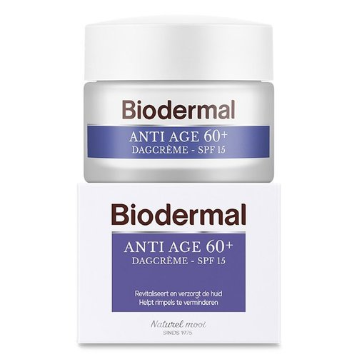 Biodermal Biodermal Dagcreme anti age 60+ (50ml)