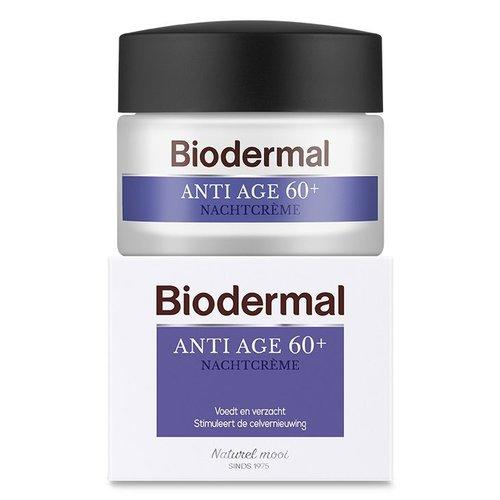 Biodermal Biodermal Nachtcreme anti age 60+ (50ml)