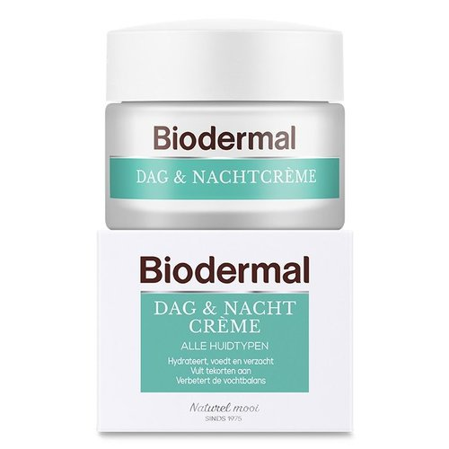 Biodermal Biodermal Dag en nachtcreme (50ml)