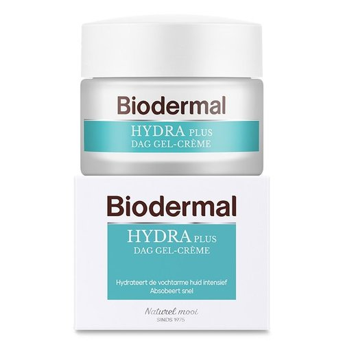 Biodermal Biodermal Hydraplus dag gelcreme vochtarme huid (50ml)