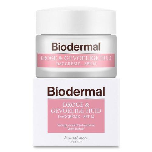 Biodermal Biodermal Dagcreme droge en gevoelige huid (50ml)
