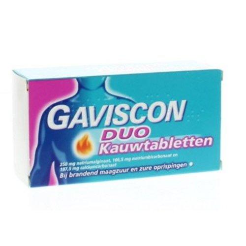 Gaviscon Gaviscon Duo tabletten (24kt)