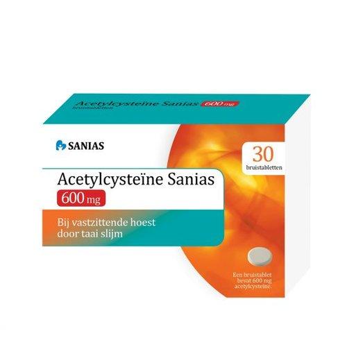 Sanias Sanias Acetyl cysteine 600 mg (30brt)